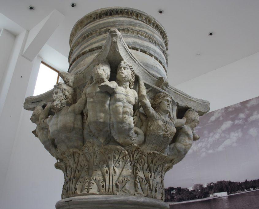 Capitello romano a palazzo Granafei a Brindisi