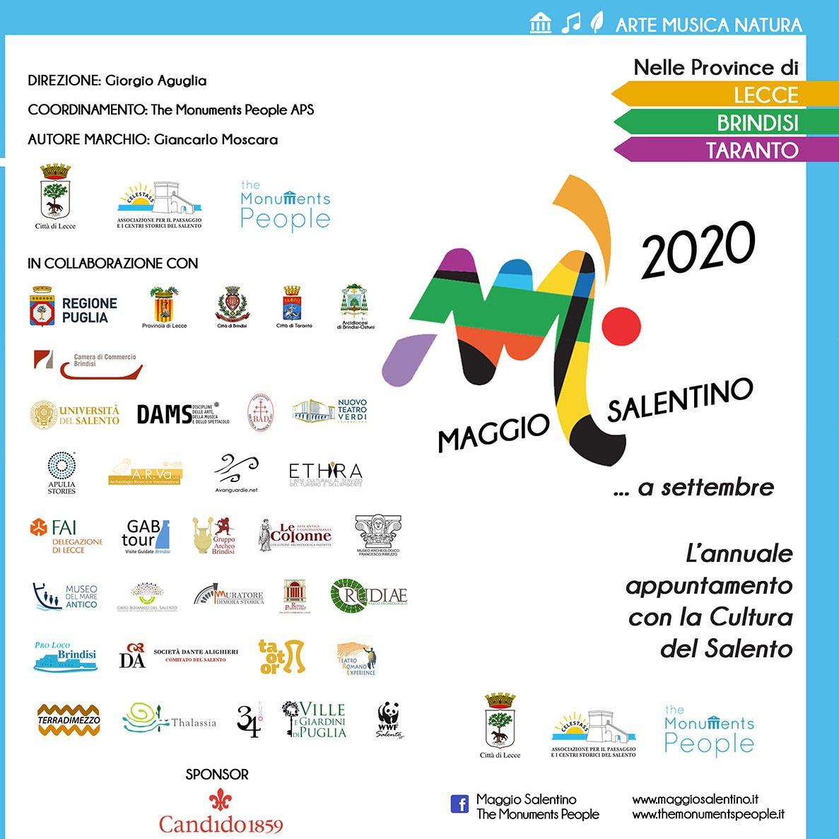 MAGGIO SALENTINO edizione 2020 … a Settembre