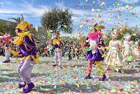 sfilata di Carnevale a Manfredonia in Puglia